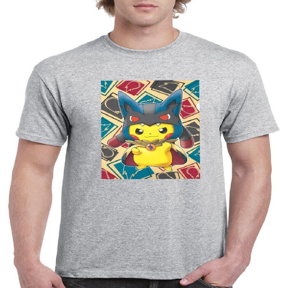Suerte de hombre con estampado de pikachu