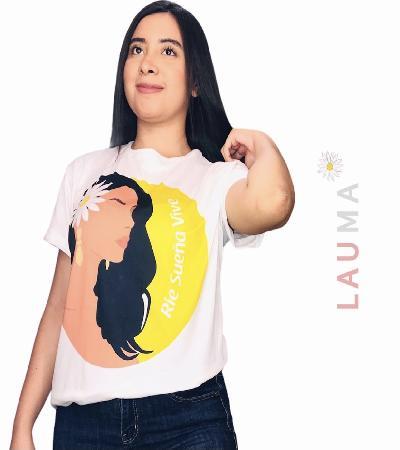 Camisa niña flor
