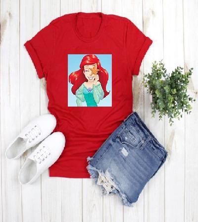 Camisa Roja Sirenita Claribel