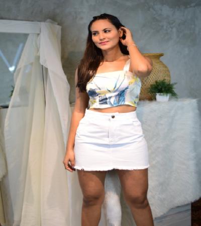 Falda Bianca