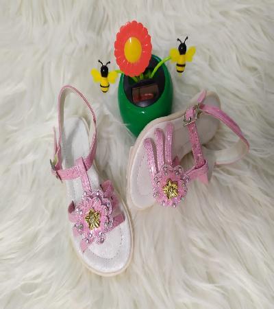 Sandalias rosa niña Aida