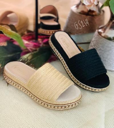 Sandalias tejidas Elena