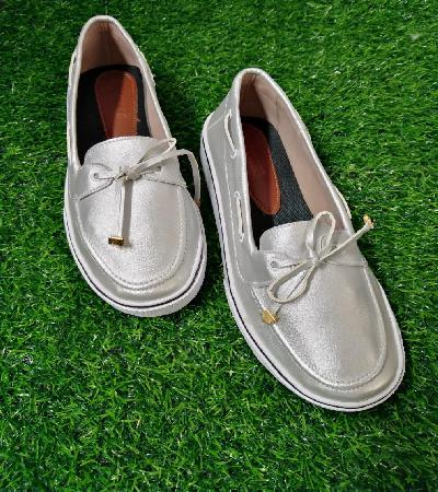 Zapatos Apache con Cordon Maeve Plata