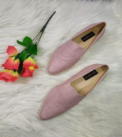 Zapatos Casual punta diamante Faith Rosa