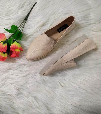 Zapatos Casual punta diamante Rachael hueso